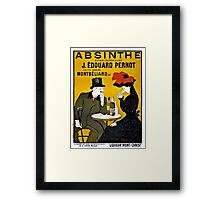 Absinthe Absinth famous Leonetto Cappiello advertising Framed Print