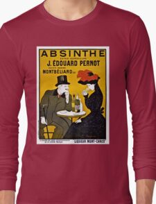 Absinthe Absinth famous Leonetto Cappiello advertising Long Sleeve T-Shirt
