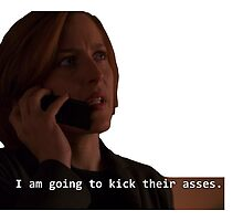 Scully is going to kick their asses. by faberryforgood