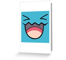 Wobbuffet Greeting Card