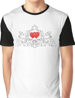 drawing hearts pencil Graphic T-Shirt