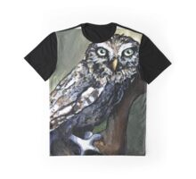 Gazing Owl Graphic T-Shirt