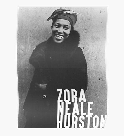 Zora Neale Hurston Libertarian Individualist Capitalist Poster