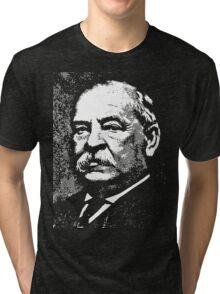 GROVER CLEVELAND-2 Tri-blend T-Shirt