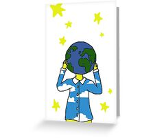 Earth Minded  Greeting Card