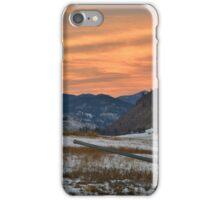 Sunset in Winthrop iPhone Case/Skin