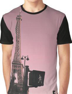 pink paris traffic Graphic T-Shirt