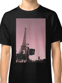 pink paris traffic Classic T-Shirt