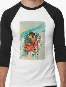 Cool Parrot Men's Baseball ¾ T-Shirt