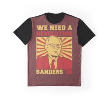 Bernie Sanders - We Need a Revolution Graphic T-Shirt