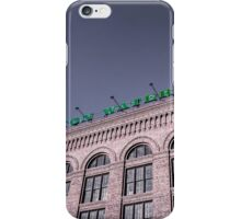 Washington Water Power iPhone Case/Skin