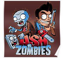 Ash vs Zombies Poster