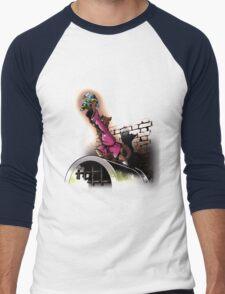 The turtle king Men's Baseball ¾ T-Shirt