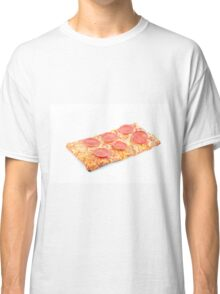 Pepperoni School Pizza Classic T-Shirt