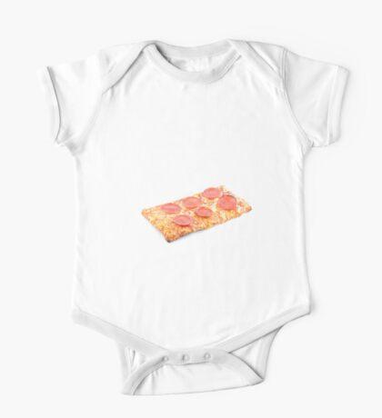 Pepperoni School Pizza One Piece - Short Sleeve