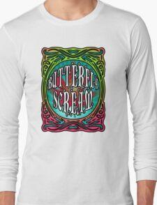 BUTTERFLY SCREAM 60'S STYLE Long Sleeve T-Shirt