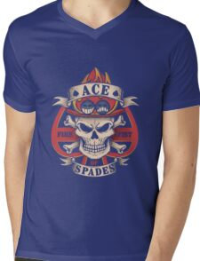 Ace One Piece Mens V-Neck T-Shirt