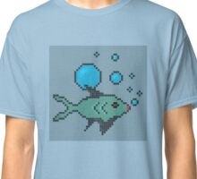 Pixel Fish Classic T-Shirt