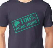100% Pure Irish stamp Unisex T-Shirt