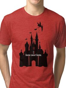 Home Sweet Home w/ Castle & Tink. Tri-blend T-Shirt