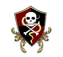 Pirate Crest Photographic Print