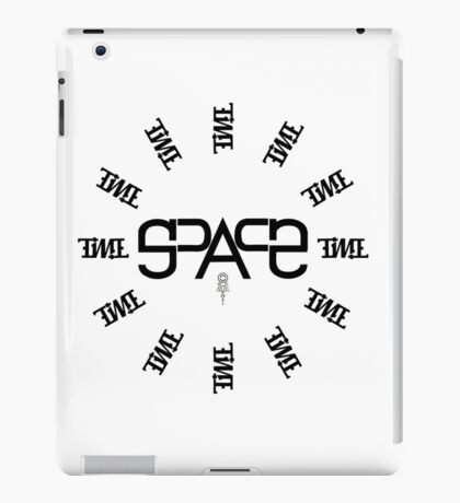 Space-Time (Invertible & Mirror Composition Ambigram) iPad Case/Skin