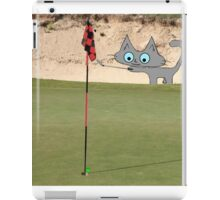 Golfing Kitty iPad Case/Skin