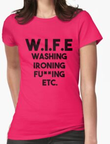 WIFE Womens T-Shirt