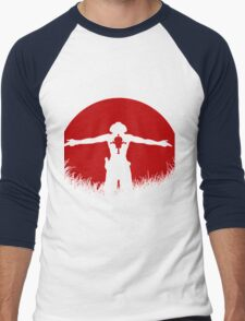 Ace One Piece Men's Baseball ¾ T-Shirt