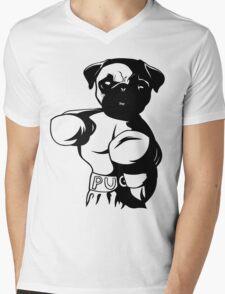 The Pug-Ilist Mens V-Neck T-Shirt