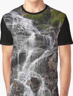 MOUNTAIN WATERFALL Graphic T-Shirt