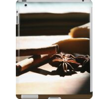 Ginger and spices  iPad Case/Skin