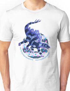 Heteroromantic Hesperosaurus (with text)  Unisex T-Shirt