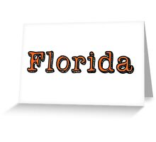Florida in the Shadows Greeting Card