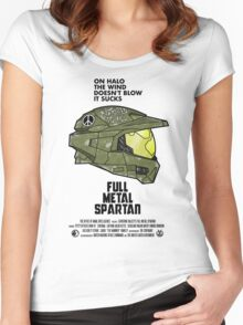 Full Metal Spartan Women's Fitted Scoop T-Shirt