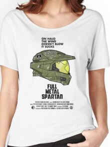 Full Metal Spartan Women's Relaxed Fit T-Shirt