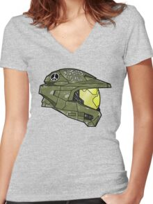 Augmented to Kill Women's Fitted V-Neck T-Shirt