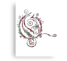 FANCY LETTER O - april ethereal Canvas Print