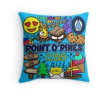 Point O'Pines Throw Pillow