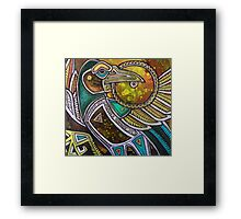 The Sun Thief Framed Print