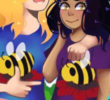 The Bumblebabes Sticker