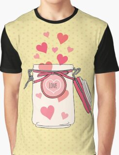 A Jar full of Love Graphic T-Shirt