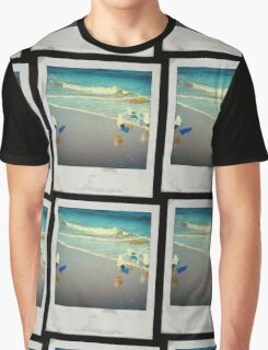 Polaroid of Seagulls Graphic T-Shirt