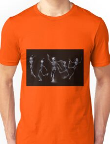 Dancing Skeletons X ray Unisex T-Shirt