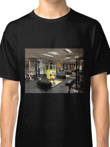 Spongebob Lifting Classic T-Shirt