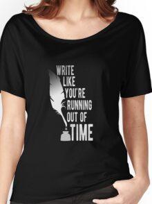 WRITE (white) - Hamilton Women's Relaxed Fit T-Shirt