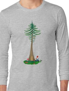 Chill Om Gnomie PNW Gnome  Long Sleeve T-Shirt