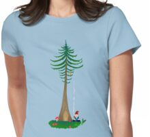 Chill Om Gnomie PNW Gnome  Womens Fitted T-Shirt