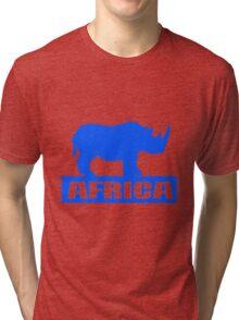 RHINO (LARGE) Tri-blend T-Shirt