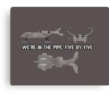 "Dropship - ""Five By Five"" [Aliens] Canvas Print"